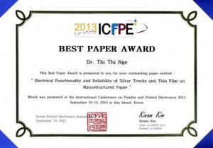 ICFPE2013
